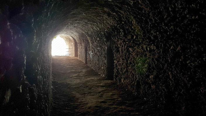 Sankt Goar Besuch der Burg Rheinfels