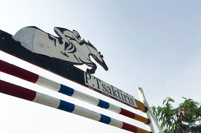 Reiten auf Zypern in der Reitschule Panagiotis Tsaktiris