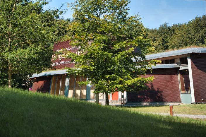 Kreidefelsen Rügen: Besucherzentrum Königsstuhl
