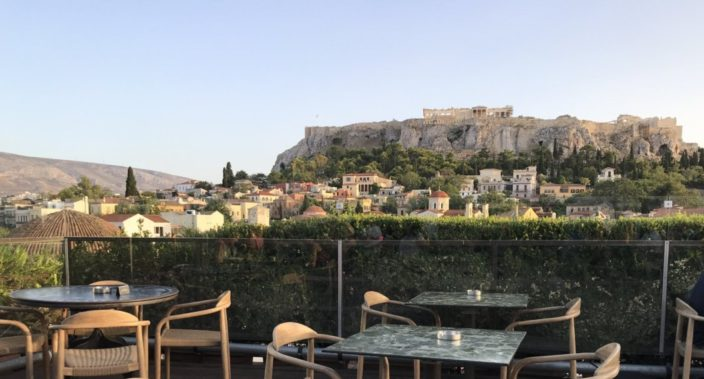 360 Cocktailbar Athen am Monastiraki Platz