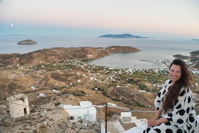 Ausblick auf den Hafen von Serifos