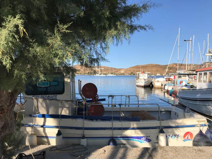 Hafen von Serifos