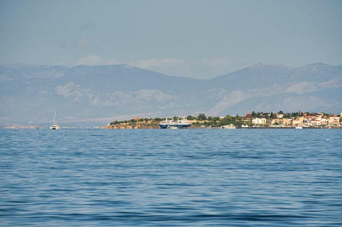 Hafen von Ägina