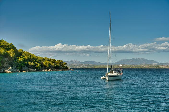 Bucht von Zogeria, Spetses