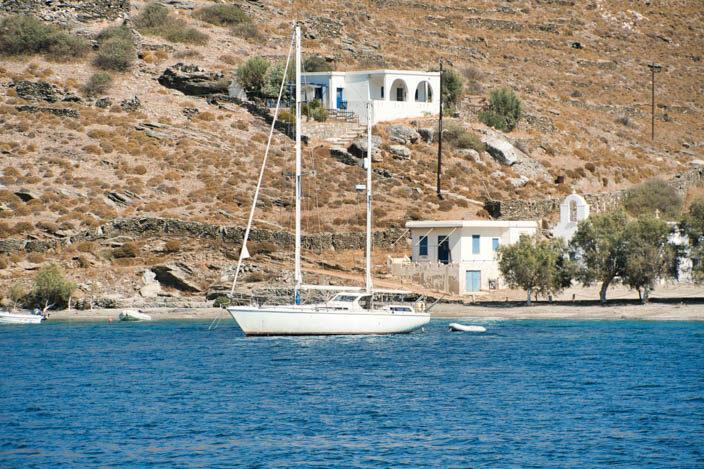 Bucht vor Kythnos