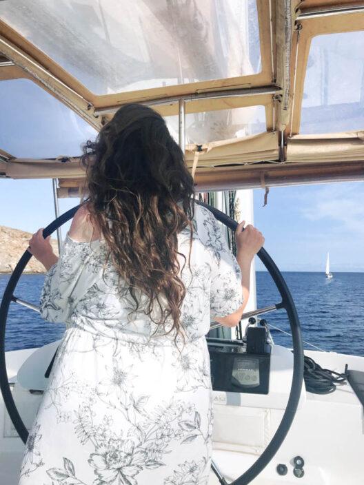 Segeln Saronischer Golf / Kykladen in Griechenland