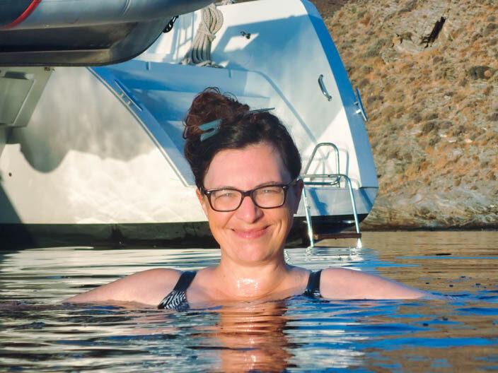 Badestopp vor Kythnos